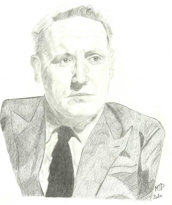 Spencer Tracy by JPPF
